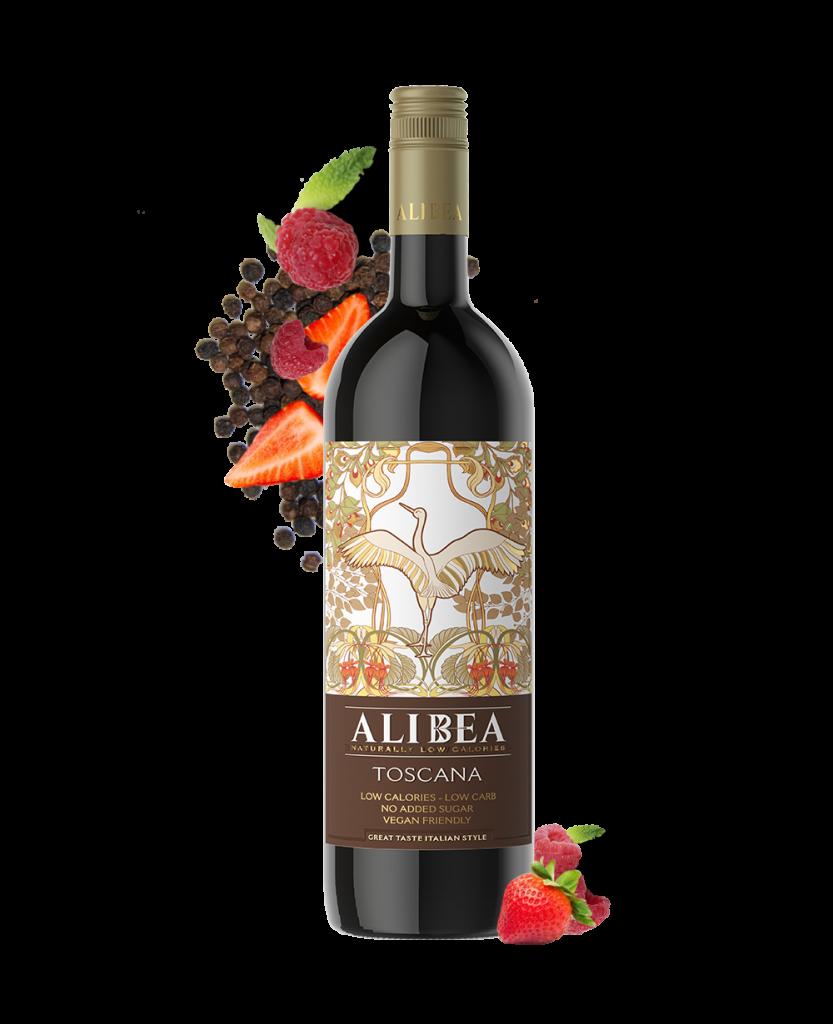 ALIBEA Toscano Rosso IGT (Low ABV) - SECCO Wine Club