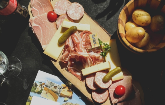 Arrange meats and cheeses however you like - SECCO Wine Club