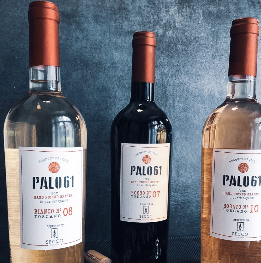 Our PALO61 wines crafted from dry farmed grapes - SECCO Wine Club
