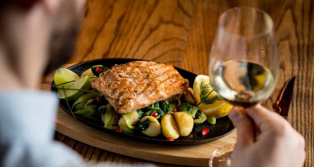 Salmon with Avocado Salsa - SECCO Wine Club