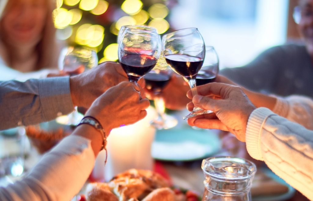 Thanksgiving is about showing gratitude for friends and family with good food and good wine - SECCO Wine Club