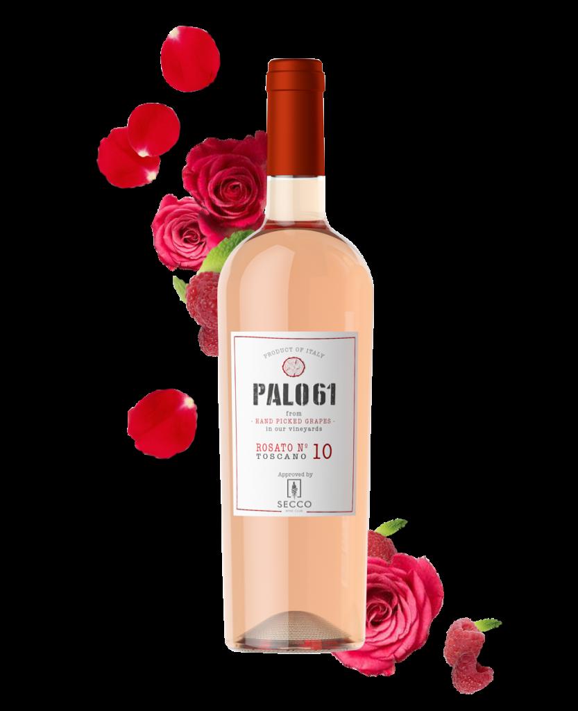 PALO61, Toscana Rosato IGT No. 10 - SECCO Wine Club
