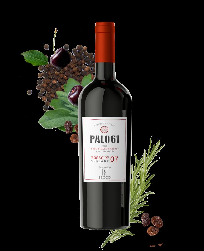 Palo61 Toscano Rosso - SECCO Wine Club